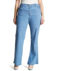 NYDJ - Blue Wylie Trouser (plus Size) - Lyst