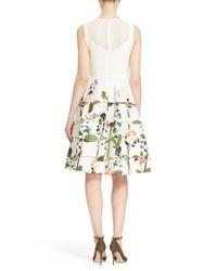 Ted Baker - Multicolor Karolie Secret Trellis Dress - Lyst