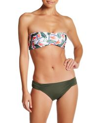 Onia | Green Allegra Bandeau Top | Lyst
