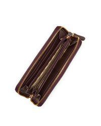 UGG - Purple Rae Zip Around Leather Wallet - Lyst