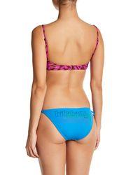 Billabong | Blue Sun Fixed Tie Side Bikini Bottom | Lyst