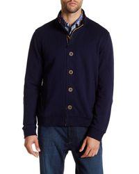 Robert Graham - Blue Duffy Knit Jacket for Men - Lyst