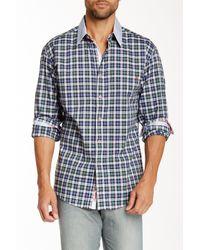 Robert Graham | Blue Mcklintock Check Sport Shirt for Men | Lyst