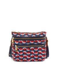 Fossil | Multicolor Explorer Fabric Crossbody | Lyst