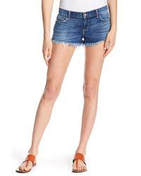 Siwy - Blue Blondie Washed Distressed Hem Jeans - Lyst