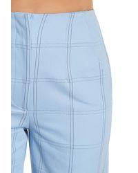 Paul & Joe | Blue Window Pane Wide Leg Pant | Lyst