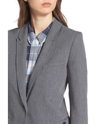 Treasure & Bond - Gray Deconstructed Blazer - Lyst