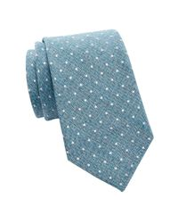 Tommy Hilfiger - Blue Village Dot Silk Tie for Men - Lyst