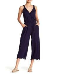 Spense - Blue Tassel Jumpsuit - Lyst