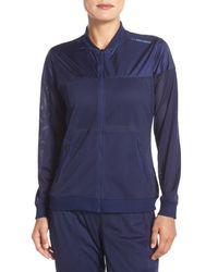 Brooks | Blue Run-Thru Water-Resistant Jacket | Lyst