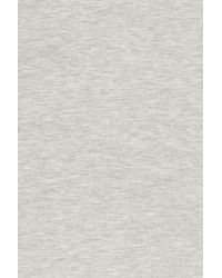 Caslon - Gray Caslon(r) Off-duty Tie Waist Miniskirt - Lyst