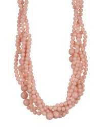 BaubleBar - Pink Bubblestream Collar Necklace - Lyst