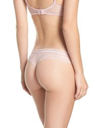 Calvin Klein - Multicolor Obsess Thong - Lyst