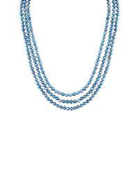 Splendid - 5-6mm Blue Endless Pearl Necklace - Lyst