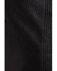 10 Crosby Derek Lam - Black Asymmetrical Zip Leather Moto Jacket - Lyst