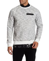 Sovereign Code - Gray Mcmurray Quilted Sweatshirt for Men - Lyst