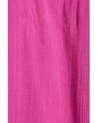 Free People - Purple 'perfectly Victorian' Minidress - Lyst