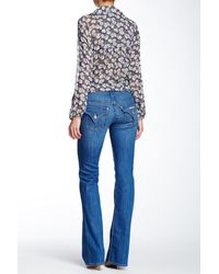 Hudson | Blue Signature Bootcut Mid Rise Jean | Lyst