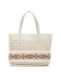 Steve Madden | Multicolor Hilda Perforated Tote | Lyst