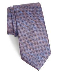 Calibrate - Black Hoss Textured Silk Tie for Men - Lyst