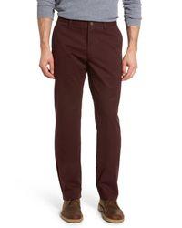 Bonobos - Multicolor Straight Leg Stretch Washed Chinos for Men - Lyst