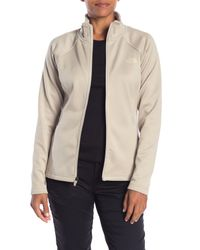 The North Face - Natural Agave Fleece Jacket - Lyst
