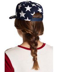 Cara - Blue Star Baseball Cap - Lyst