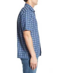Tommy Bahama - Multicolor 'pixel In Paradise' Original Fit Short Sleeve Sport Shirt for Men - Lyst