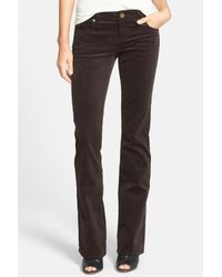 9316fa1a5c1 Lyst - Kut From The Kloth Baby Bootcut Corduroy Pants in Brown