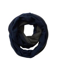 Bickley + Mitchell - Blue Colorblock Infinity Scarf for Men - Lyst