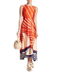 Eva Franco Multicolor Kelsey Print Dress