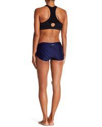 K-DEER - Blue Bum Bum High-waisted Bikini Bottom - Lyst