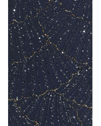 Pisarro Nights - Blue Beaded Sheath Dress - Lyst