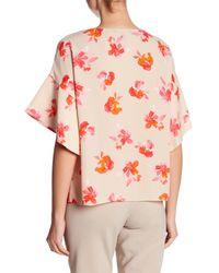 Ellen Tracy - Pink Handkerchief Sleeve Top - Lyst