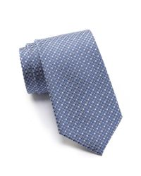 Kenneth Cole Reaction - Gray Crystal Neat Silk Tie for Men - Lyst
