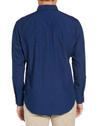 Zachary Prell - Blue Trim Fit Sport Shirt for Men - Lyst