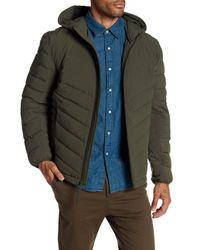 Andrew Marc | Green Delavan Lightweight Quilted Winter Coat for Men | Lyst