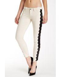 Siwy Multicolor Hannah Slim Cropped Jean