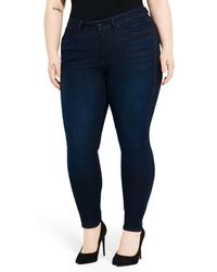 Ayr | Blue The One Love High Waist Skinny Jeans | Lyst