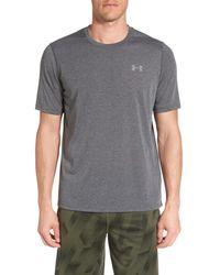 Under Armour - Gray Threadborne Siro 3c Twist T-shirt for Men - Lyst