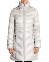 Via Spiga | Multicolor Quilted Packable Down Coat | Lyst