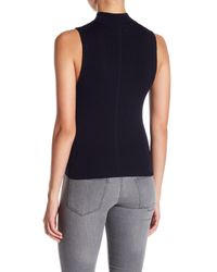 360cashmere - Blue Edie Mock Neck Tank Top - Lyst