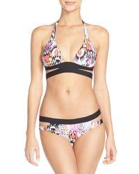 Seafolly - Multicolor 'beach' Split Band Hipster Bikini Bottoms - Lyst