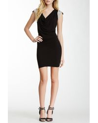Sky - Black Hanaz Embellished Dress - Lyst