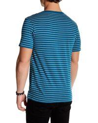 Tavik - Blue Tracer Knit Tee for Men - Lyst