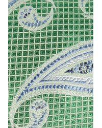 Nordstrom - Green Paisley Silk Tie for Men - Lyst