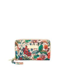Steve Madden | Multicolor Zip Around Travel Wallet | Lyst