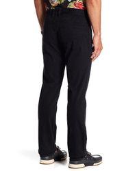 "Tommy Bahama - Black Santiago Vintage Fit Straight Leg Pants - 30-34"" Inseam for Men - Lyst"