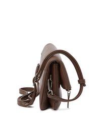 Matt & Nat - Multicolor Alaya Foldover Vegan Leather Crossbody Clutch Bag - Lyst