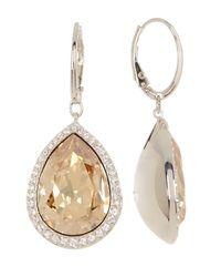 Swarovski - Multicolor Crystal Accented Deduce Earrings - Lyst